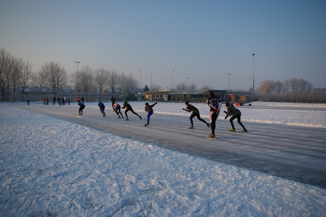 District Hoekse Waard in training